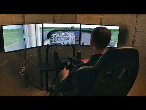 Gleim X-Plane Flight Training Course Demonstration