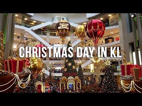 Christmas Day in Kuala Lumpur - Malaysia 2017