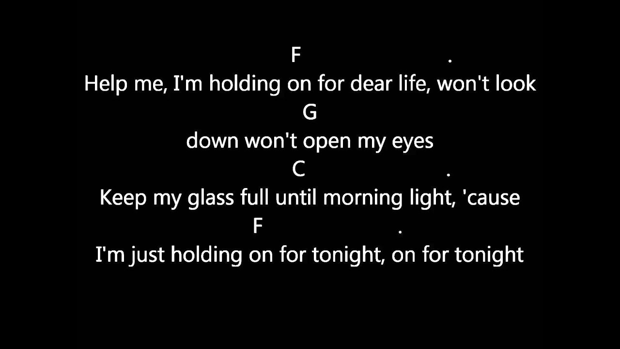 Sia - Chandelier Lyrics & Guitar Chords - YouTube