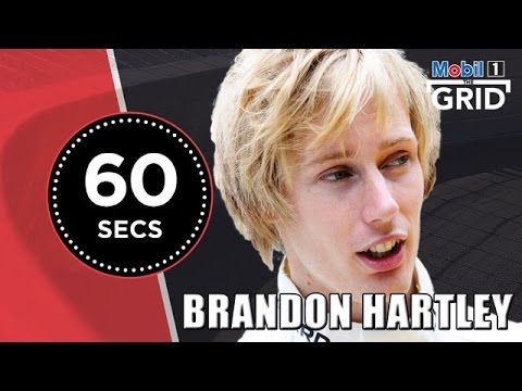 Brendon Hartley – 60 Seconds | Mobil 1 The Grid