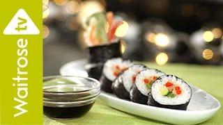 Sushi with Tempura Vegetables | Waitrose