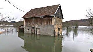 Рекордные наводнения в Хорватии: введён режим ЧП