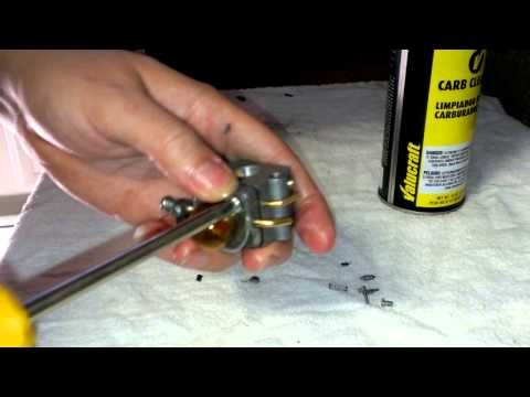 How to clean a weedeater or chainsaw carburetor