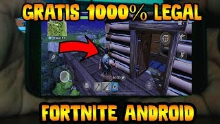 ✔️ FORTNITE FOR ANDROID GET 1000 PAVOS FREE 1000% LEGAL AND MORE THAN 2500 A MONTH!