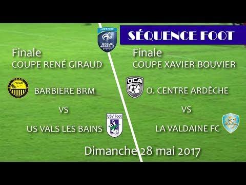 Séquence Foot Coupe René Giraud et Xavier Bouvier Finale