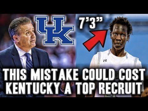The Mistake That Could Cost Kentucky Top High School Prospect Bol Bol