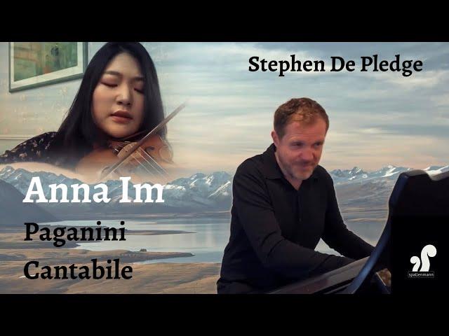 Anna Im plays Paganini Cantabile