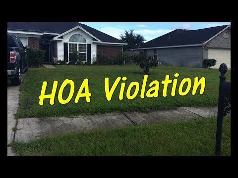 Pt 1 Lawn Service - HOA Violation - Customer Needs Help FAST!