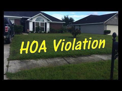 Pt 1 Lawn Service - HOA Violation - Customer Needs Help FAST!