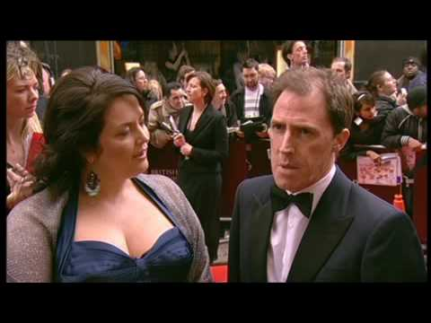 Rob Brydon and Ruth Jones