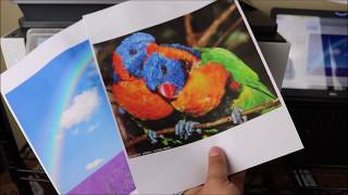 Print Quality TEST HP Officejet Pro 9025