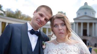 Свадебное видео в парке Архангельское, дворец №4