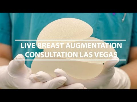 Live Consultation Breast Augmentation Las Vegas