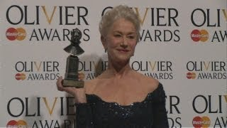 Olivier Awards 2013: Dame Helen Mirren on playing the Queen