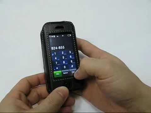 PDair Leather Case for Samsung Glyde SCH-U940 - Sleeve Black