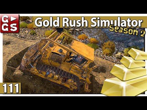 GOLDGRÄBER SIMULATOR 💰 Planierter Weg ist das Ziel #111 Gold Rush Gameplay deutsch