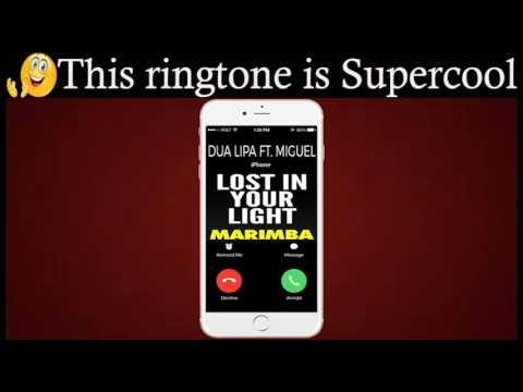 Latest iPhone Ringtone - Lost In Your Light Marimba Remix Ringtone -