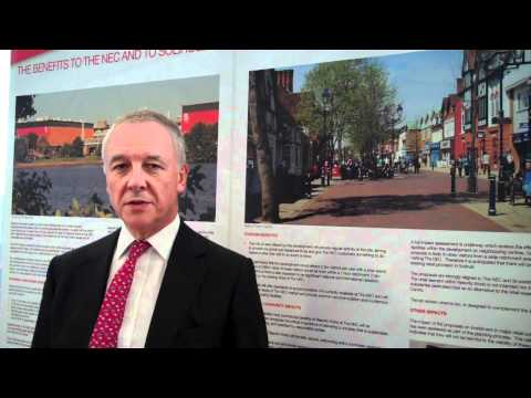 Peter Brooks of Genting Casinos UK discusses a planned casino at the NEC