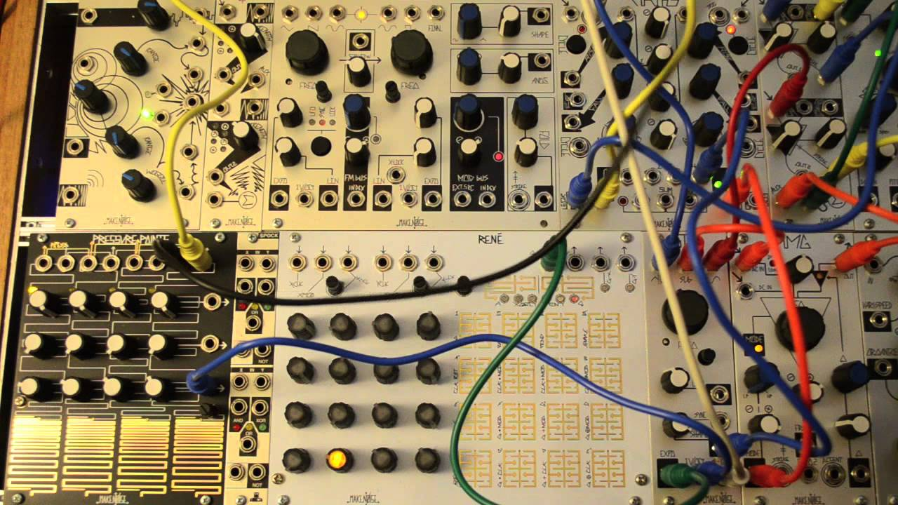 Make Noise Sub Timbral Oscillator Sto Complex Melodies Youtube The Circuit Shown Is Most Interesting Of Several Drum Oscillators