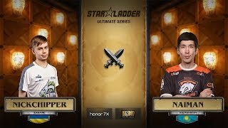 NickChipper vs Naiman, 1/2, StarLadder Hearthstone Ultimate Series