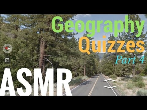 [ASMR] Whispered Geography Quizzes Part 4!