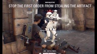 Star Wars Battlefront 2 Beta Strike 6 Rocket Jumper Gameplay