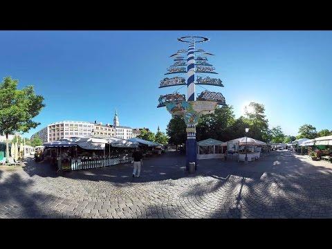 München 360°-Video: Impressionen aus der City