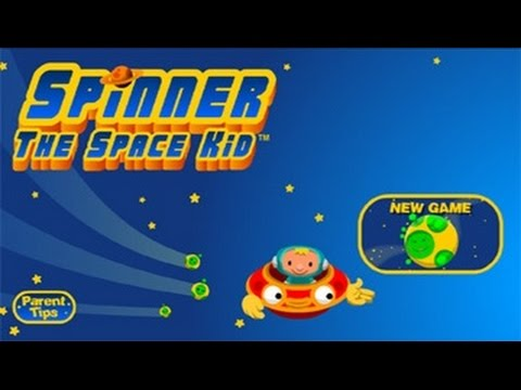 Spinner the Space Kid Nick jr. games for kids full episodes English ...