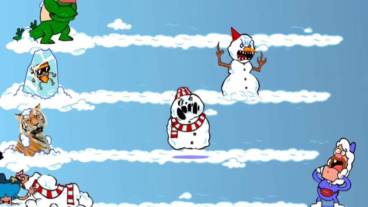 العاب العم جدو رجل الثلج الشرير السيد غاس بيتزا ستيف و بيلي باغ