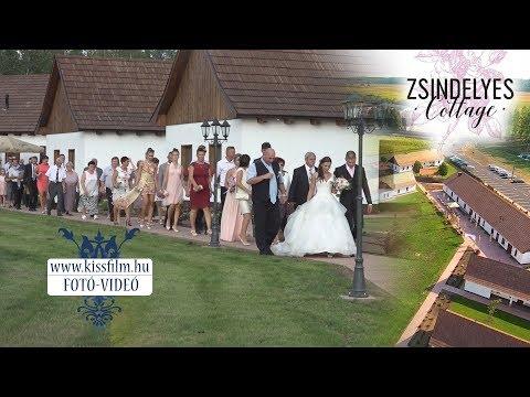 Zsindelyes Cottage esküvő (Érpatak) KISSFILM.HU
