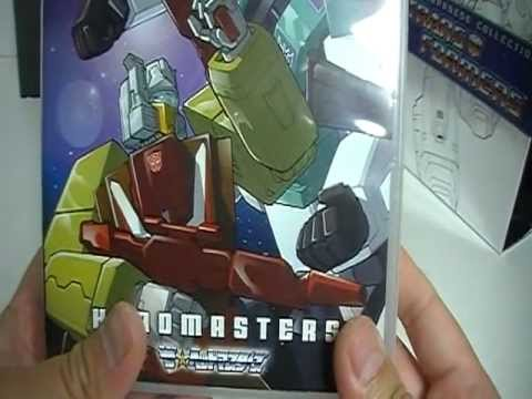 Transformers: The Japanese Collection Headmasters Super-God Masterforce Victory DVD set