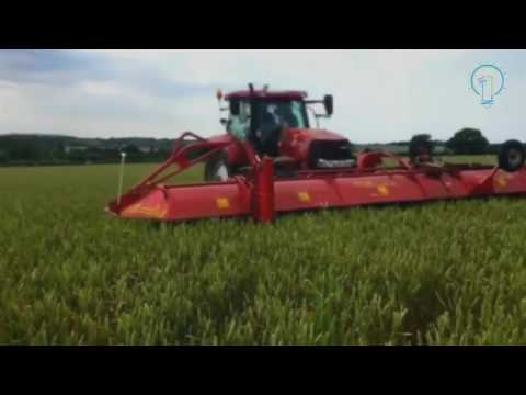 #Amazing amazing agriculture technology, inter row weeder machine, new modern agriculture equipment