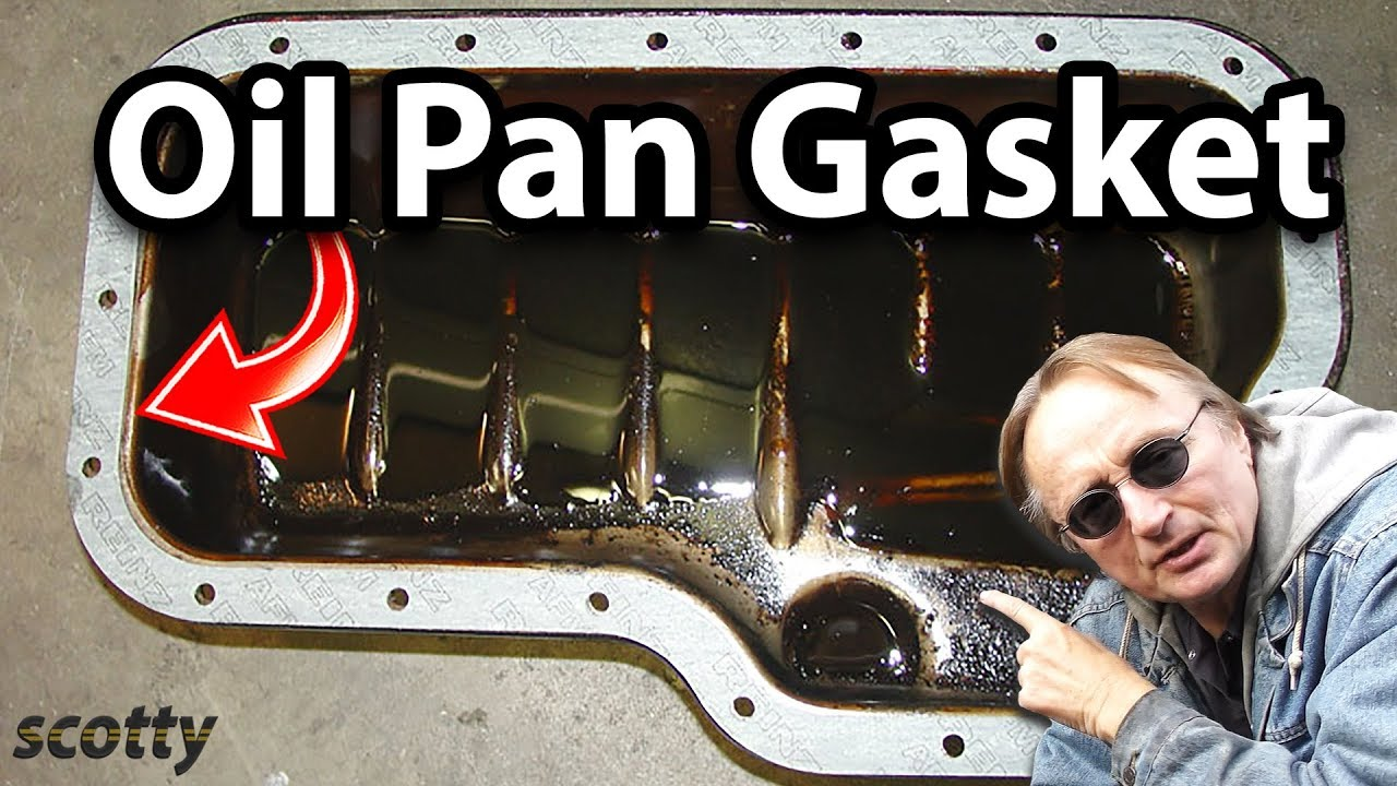 How to Replace a Leaking Oil Pan Gasket in Your Car - YouTube