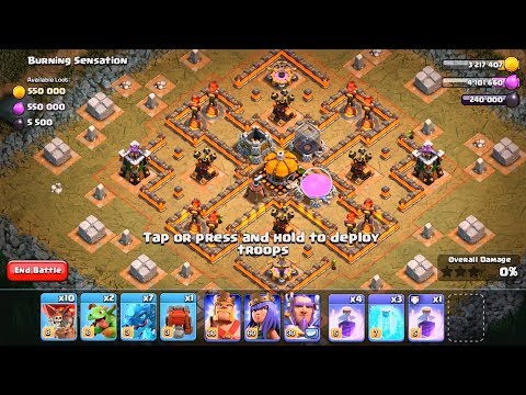 NEW GOBLIN MAPS #6-10 | Clash of Clans