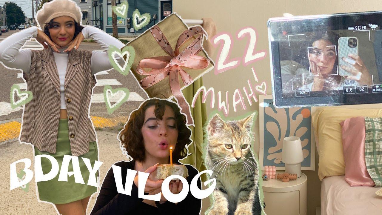 BDAY VLOG! my 22nd bday vlog