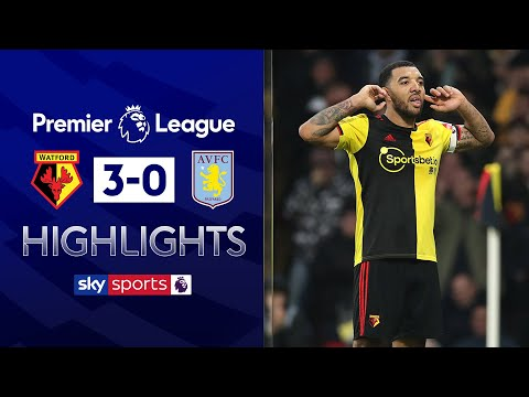 Deeney double helps 10-man Watford ease past Villa | Watford 3-0 Aston Villa | EPL Highlights