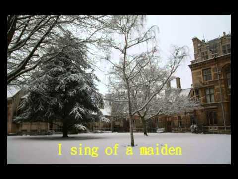 冬日的劍橋相片集-配聖誕聖詠 Cambridge in winter - Christmas Carols