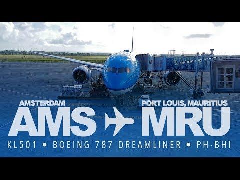 TRIP REPORT   KLM 787-9 Dreamliner to Mauritius   AMS-MRU