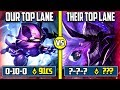 OUR TOP LANE VS THEIR TOP LANE | SOMETIMES RANKED GAMES ARE UNFAIR | Season 8 League of Legends