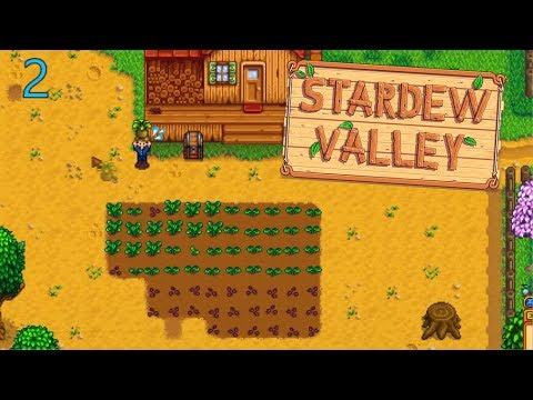 Slowly    but surely - Stardew Valley Let's Play Ep 2
