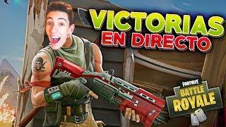 VICTORIA EN DIRECTO!!! DUO CON MI HERMANO EN FORTNITE BATTLE ROYALE