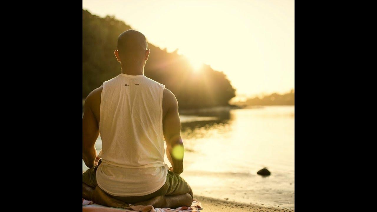 20 min stress relief yoga sequence in Rarotonga, Cook Islands