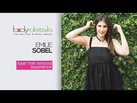 My Laser Hair Removal for Legs Experience | Emilie Sobel | Body Details