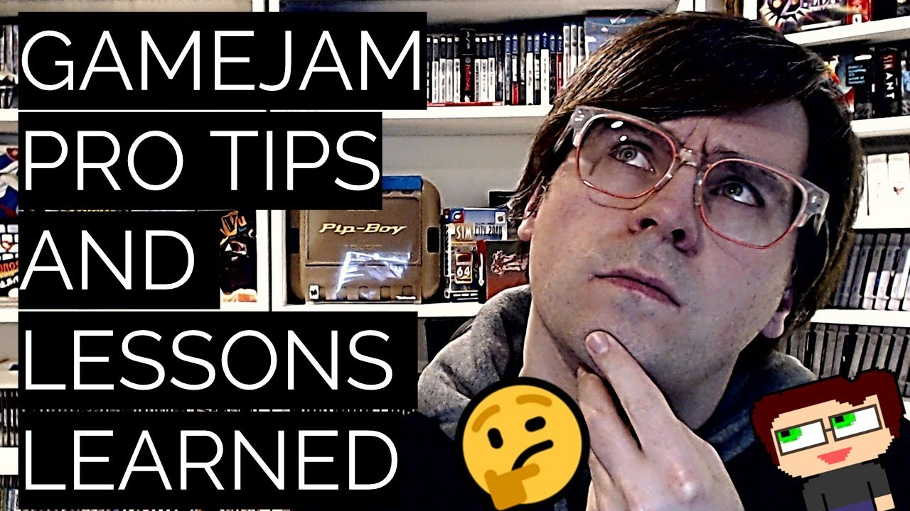 Thumbnail images for Gamejam Tips & Retrospective [Car Scientist Lessons] video