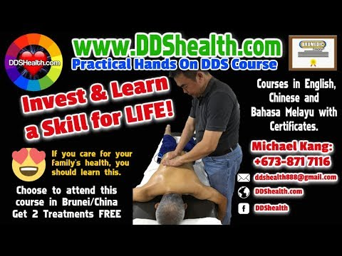 DDS Bio Current Therapy from China has a Training Place in Brunei and Asean