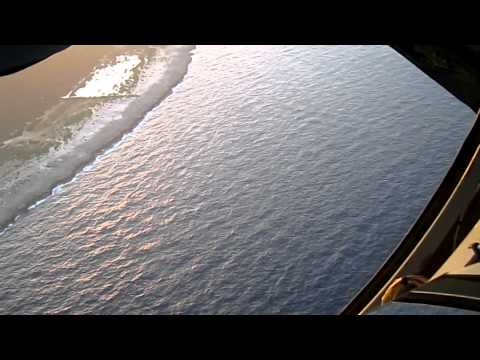 Takeoff on KC-135 from Boom Window