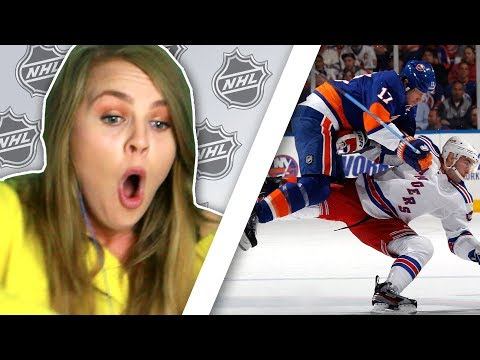 Irish People Watch The Hardest NHL Hockey Hits