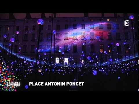 Emission spéciale Fête des Lumières 2014