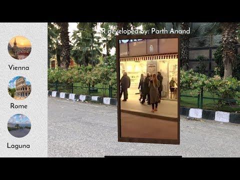 Augmented Reality (ARKit) portal - Demo