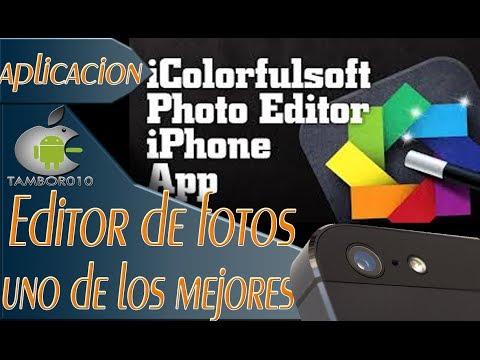 el mejor editor de fotos para iphone/ipad/ipod ios 7 2013